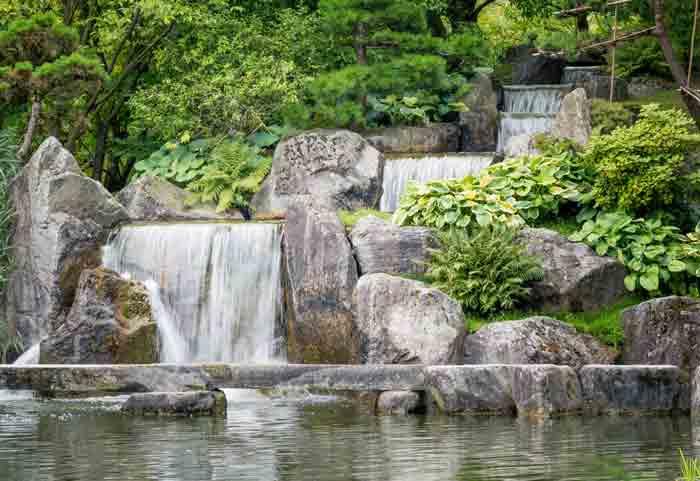 Японский сад в Хасселте – место покоя и медитации