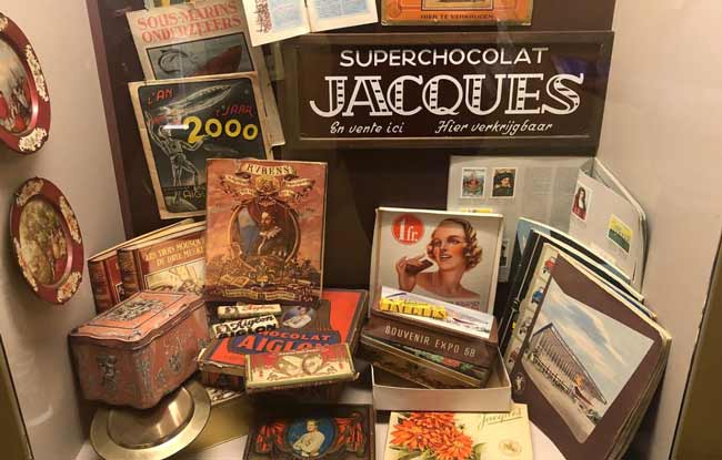 Музей шоколадной истории в Брюгге