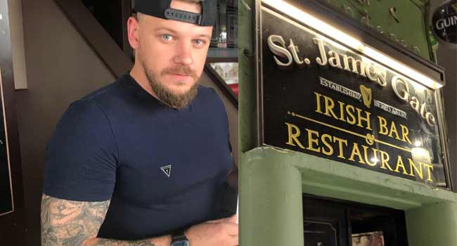 На фото: владелец паба St-James Gate Эдгар Тарлан