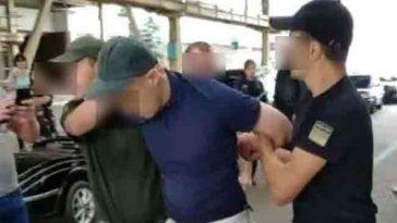 Видео задержания бельгийского сутенера в Украине