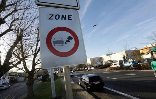 До запрета на въезд 620.000 автомобилей в Антверпен и Гент остался месяц