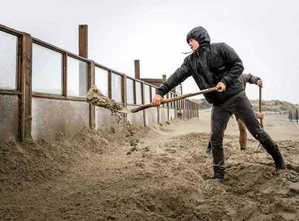 В Нидерландах вмешательство происходит главным образом на побережье