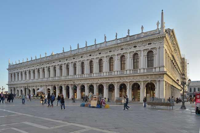 Национальная библиотека Марциана в Венеции, Италия