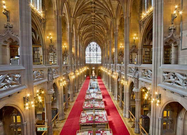 Библиотека Джона Райленда в Манчестере, Великобритания