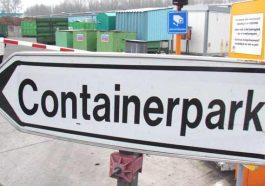 Фландрия открывает контейнерные парки для переработки мусора, а семьям разрешили использовать автомобиль