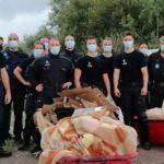 Полиция сносит палаточные лагеря трансмигрантов в Зебрюгге