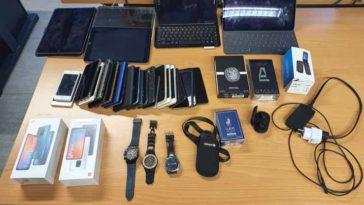 Полиция Брюсселя изъяла у карманников несколько тысяч украденных вещей
