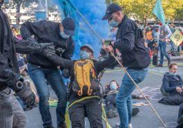 Бельгия: климатические активисты задержаны у королевского дворца