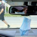 Штраф за маску на зеркале заднего вида автомобиля?