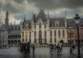 Сильные дожди по всей Бельгии
