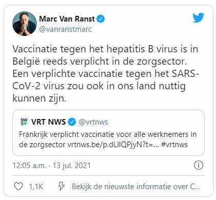 Твиттер Ван Ранст